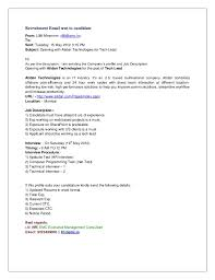 Best Format To Send Resume by How To Send Resume To Consultancy 10975