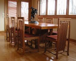 furniture frank lloyd wright style table u0026 chairs ebben custom