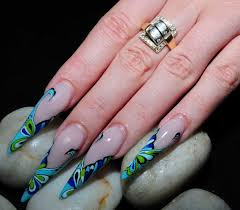stiletto nail art designs u2013 acrylic nail designs