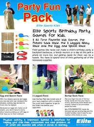 amazon com elite sportz birthday party games for kids 3 all