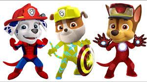 pj masks paw patrol spider man captain america iron man coloring