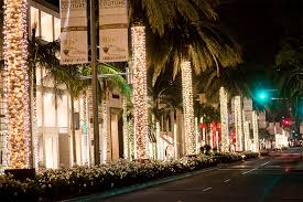 beverly hills christmas lights beverly hills holiday lighting photo gallery