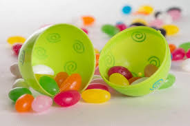 decorative eggs that open colorful easter eggs jelly beans stock photo wpd911 19786123