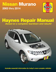 nissan murano spark plugs nissan murano 03 14 haynes repair manual haynes manuals