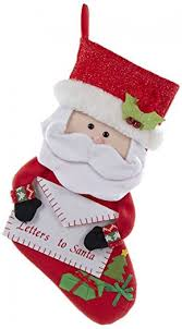 letters to santa personalized christmas stocking