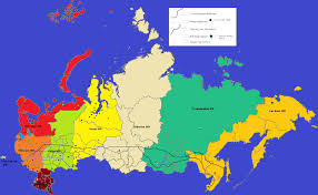 Russia Physical Map Physical Map by Volga River Russia Map