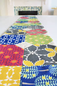 Modern Table Runners Search Results Folk Modern Table Runner Thelongthread Com