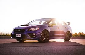blue subaru 2017 review 2017 subaru wrx sti sport canadian auto review