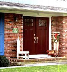 front door brick house color black red ideas for colors green
