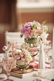 vintage wedding ideas milk glass and depression glass centerpieces