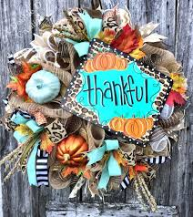 25 unique thanksgiving mesh wreath ideas on fall