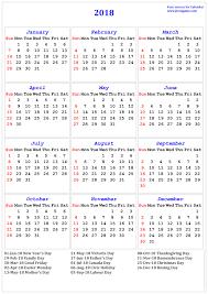 thanksgiving canada holiday 2018 calendar printable calendar 2018 calendar in multiple