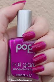 pop beauty nail glam swatches and reviews cosmetic sanctuary