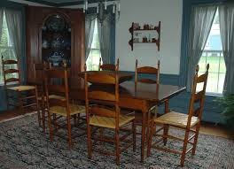 handmade table chairs shaker by mc guire family furniture makers