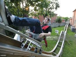 home made rollercoaster pictures getty images