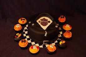 mark u0027s 50th harley davidson theme cake cakecentral