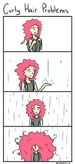 Rainy Day Meme - curly hair on a rainy day