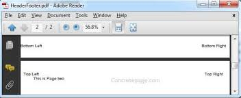 Count Number Of Pages In Pdf Itext Header And Footer In Pdf Itext In Java