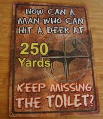 hunting cabin lodge bathroom home decor sign new must read ebay