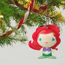 the mermaid ariel wood ornament keepsake ornaments hallmark