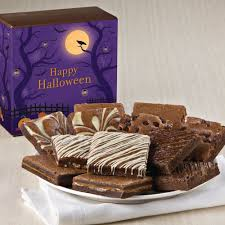 Nut Baskets Halloween Nut Free Dozen Halloween Nut Free Gourmet Brownie Gift