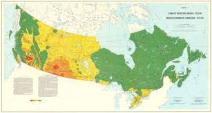 map of canada atlas agroclimatic atlas of canada
