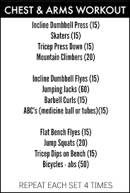prep chest arms workout honey we re home bloglovin