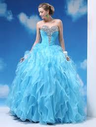 milanoo robe de mari e light sky blue gown floor length quinceanera dress with