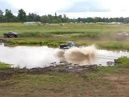 monster truck videos in mud monster truck lift jump into mud win jukin media