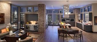 cuisine avec frigo americain réfrigérateur américain en inox encastrable kssc48fts