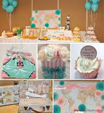 themed bridal shower decorations best 25 travel bridal showers ideas on travel party