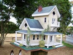 diy decorative bird houses ideas