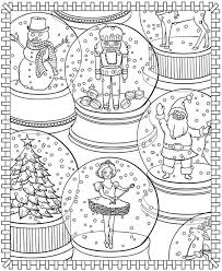 wild night town christmas coloring pages chubbyart