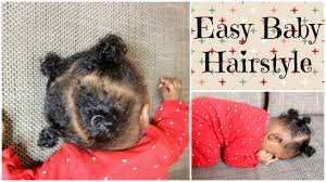 18 month girl haircut afro baby girl hairstyle using rubberbands infant toddler