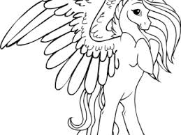 unicorns coloring pages printable 14 winged unicorn coloring pages