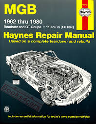 mg manuals at books4cars com