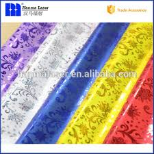 gift plastic wrap holographic gift wrap design plastic wrapping paper roll laser