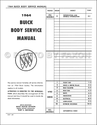 28 1964 buick repair manual 115772 buick chassis service