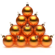 pyramid black decoration new year s baubles