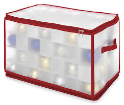 amazon com whitmor ornament gift cube case large home u0026 kitchen