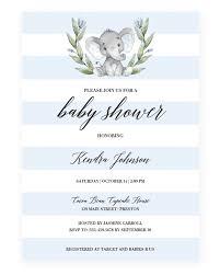 boy baby shower invitation templates baby boy invitation