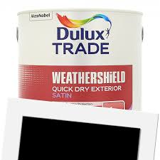 dulux trade weathershield exterior quick drying satin 2 5l