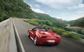 Ferrari 458 Blacked Out - ferrari 458 spider motion 7 2560x1600 wallpaper