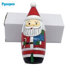 Santa Claus Dolls Handmade - 18 5 7cm 5pcs set santa claus matryoshka wooden russian