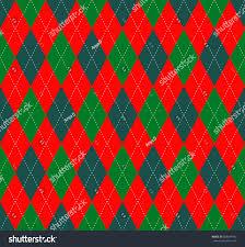 seamless argyle plaid pattern shades green stock vector 608647442