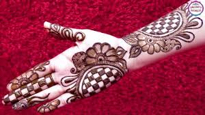 henna decorations beautiful 3d arabic henna designs with the help of bangle step
