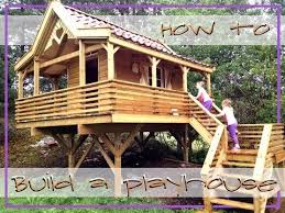 building your own tree house how to build a house how to build a playhouse treehouse youtube