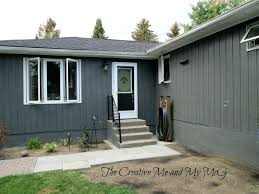 blue house white trim gray house white trim black door medium size dark blue house with