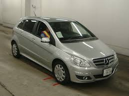 mercedes b class 2009 2009 mercedes b class b170 japanese used cars auction