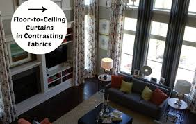 Decorating Ideas Spotted In A Model Home Hooked On Houses - Two story family room